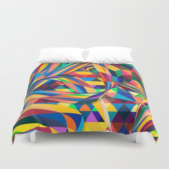 The Optimist Duvet Cover