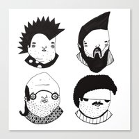 Busts 2° Part Canvas Print