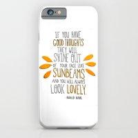 Sunbeams iPhone 6 Slim Case