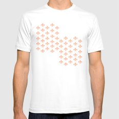 Peachy Infinity SMALL White Mens Fitted Tee