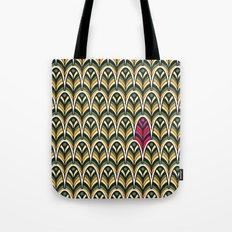 Rubine Feather Tote Bag