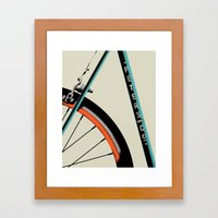 Bike Portrait 1 Framed Art Print