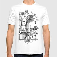 Penang, Malaysia (I) Mens Fitted Tee White SMALL
