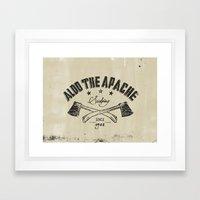 Aldo The Apache Framed Art Print