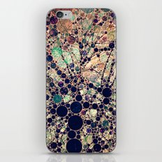 Colorful tree loves you and me. iPhone & iPod Skin
