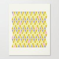 Lemon Sorbet Canvas Print