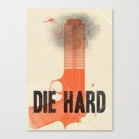 Die Hard Canvas Print