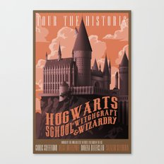 Tour Hogwarts  Canvas Print