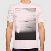 Ponga Mens Fitted Tee Light Pink SMALL