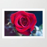 MAGIC ROSE Art Print