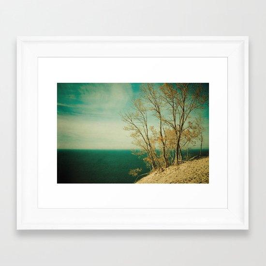 Dare to Leap Framed Art Print