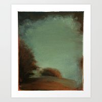 Landscape (untitled 1) Art Print