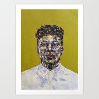 Mick Jenkins Portrait Art Print