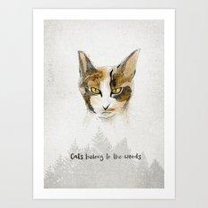 Lilou Art Print