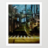 Detour Art Print