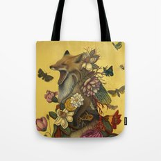 Fox Confessor Tote Bag