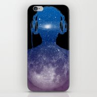iPhone & iPod Skin featuring Music Space by BarmalisiRTB
