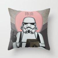 Empire - Convert - Star Wars, Stormtrooper Throw Pillow