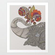 Shower of Joy Art Print