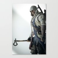 My Enemy Is A Notion, No… Canvas Print