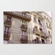 Parisian Architecture Canvas Print