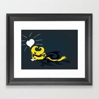 Light Of Inspiration Framed Art Print