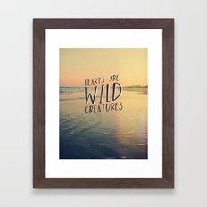 Wild Creatures Framed Art Print
