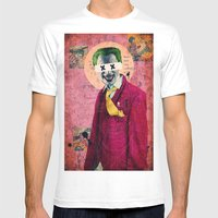 What Are You Laughin' At? Mens Fitted Tee White SMALL