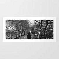 Panoramic On Death Art Print