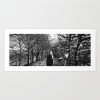 Panoramic On Death Art Print