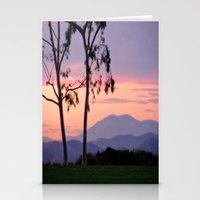 Saddleback Sunset Stationery Cards