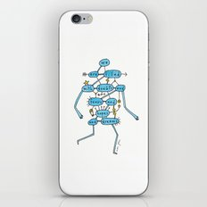 doubts and fears and hopes and dreams iPhone & iPod Skin