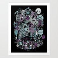 Supernature In The City … Art Print