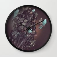 Space Stone Wall Clock