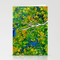 Bird Out The Bush Stationery Cards