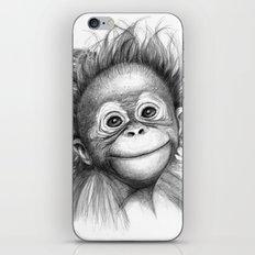 Monkey - Baby Orang Outa… iPhone & iPod Skin