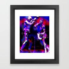 ALI'S STING BY Cd KIRVEN Framed Art Print