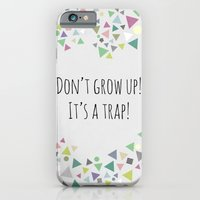 Don't grow up (colorful) iPhone 6 Slim Case
