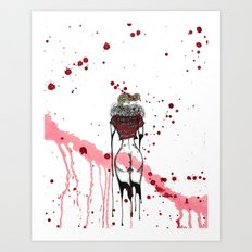 Red Dream Art Print