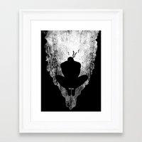 Ninja Slice V2 Framed Art Print