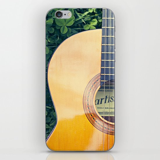 Artista Guitar iPhone & iPod Skin