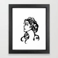 Gypsy Sorrow Framed Art Print