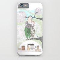 iPhone & iPod Case featuring Birdies by Yael Steinwurzel