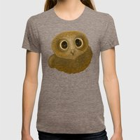 Hootie Hank - Drawing Womens Fitted Tee Tri-Coffee SMALL