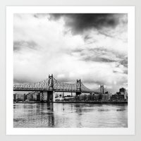 Queensboro Bridge. Art Print