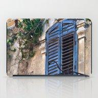 Blue Sicilian Door On Th… iPad Case