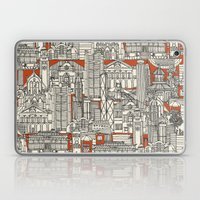 Hong Kong Toile De Jouy Laptop & iPad Skin