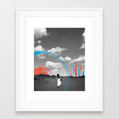 Painting Your Reality Framed Art Print