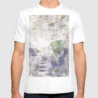 GREEN PIANOFORTE Mens Fitted Tee White SMALL