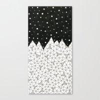Diamond Peaks Canvas Print